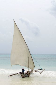 Segelboot Sansibar