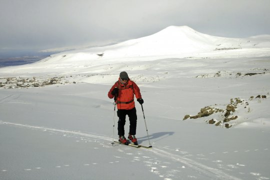 Skiaufstieg Geghakhan Armenien
