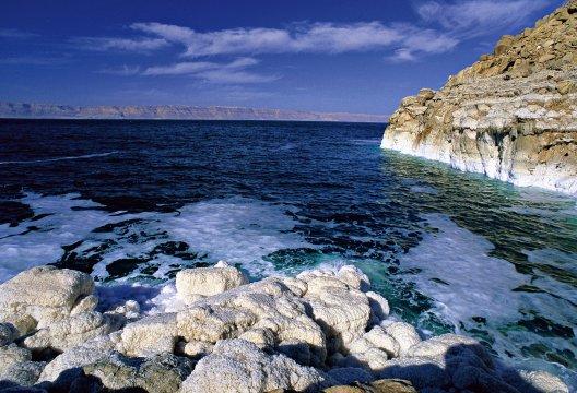 Salz Formationen Totes Meer
