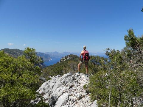 Ausblick über Punta Salinas