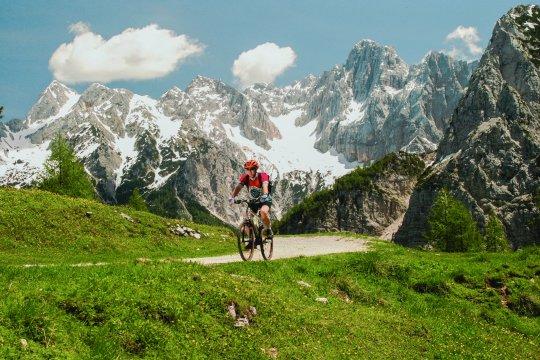 Biketour in den Julischen Alpen