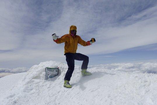 Am Gipfel des Ararat 2