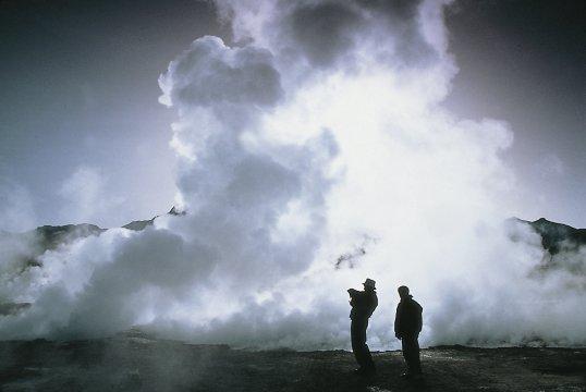 Geysir in Chile 2