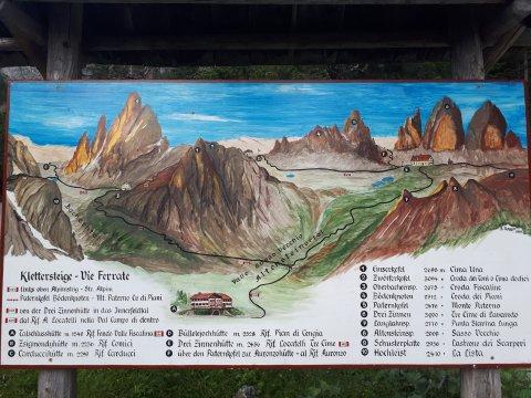 Österreich-Alpen-Karte-Fischleintal