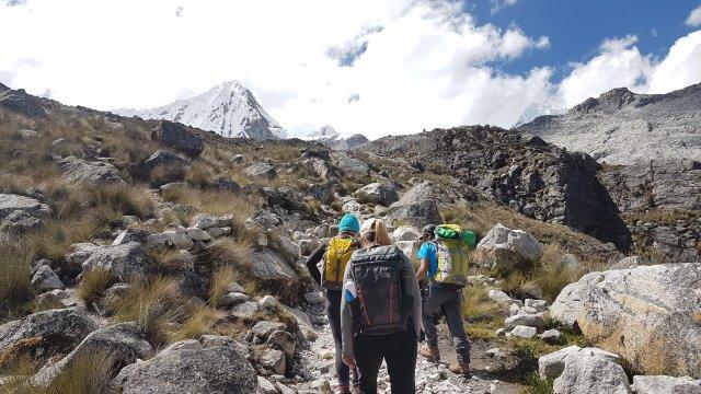 Wandern in der Cordillera Blanca