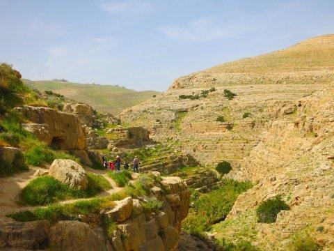 Israel-Wadi-Kelt-Route