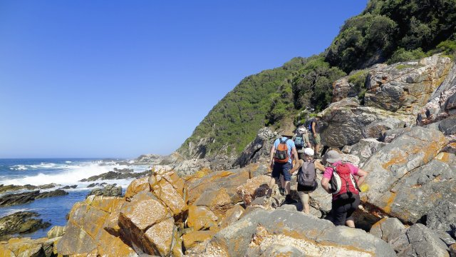 Wandern auf dem Otter Trail