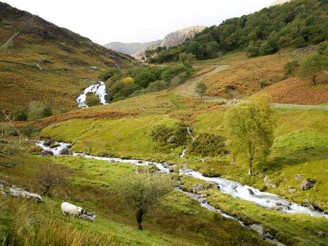 Wales Afon Cym Lin