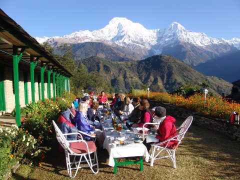 Himalaya Lodge in Ghandrung
