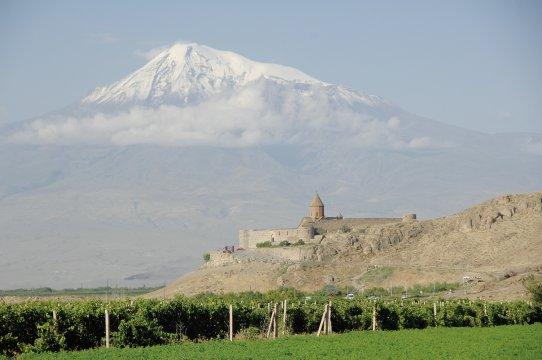 Kloster Khor Virap mit Ararat 2