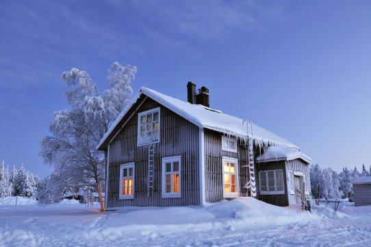 Hütte Wildnisgehöft Solberget
