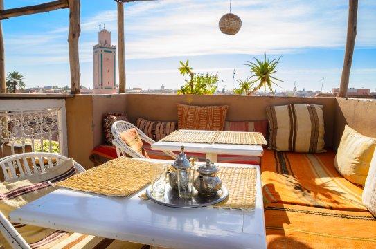 Dachterrasse Marrakech