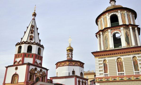 Kirche in Irkutsk