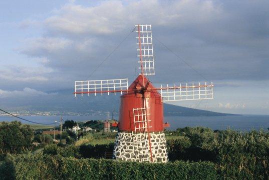 Windmühle auf Faial