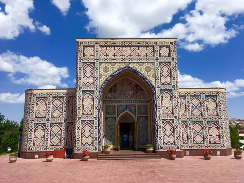 Observatorium von Ulug Beg in Samarkand
