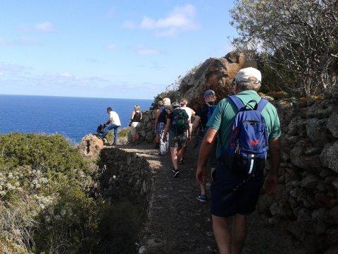 Wandern auf den Liparischen Inseln