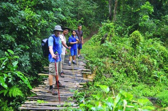 Trekking in Nordthailand