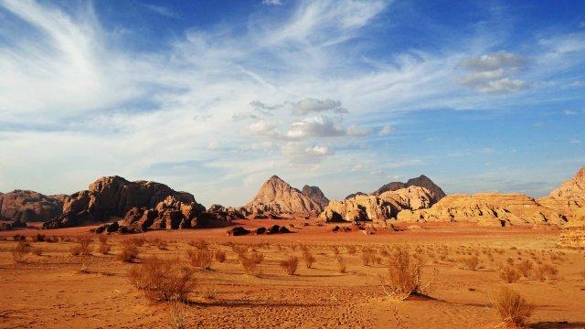 Wüstenberge Wadi Rum