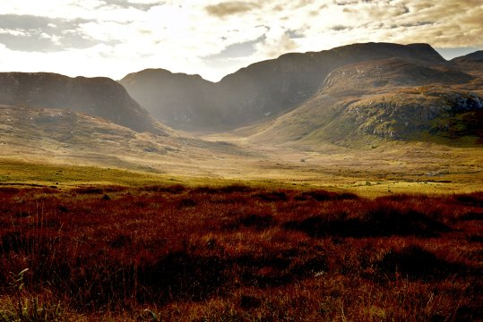 Lichtfall am Poisoned Glen
