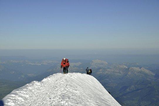 Gipfel_ Montblanc 3