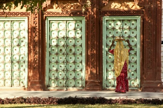 Szene Rajasthan