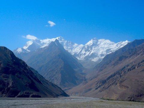 Aussicht im Wakhan-Korridor
