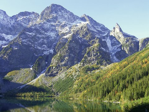Blick zur Polnischen Tatra