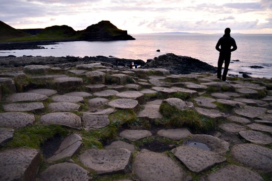 Basaltformationen am Giants Causeway