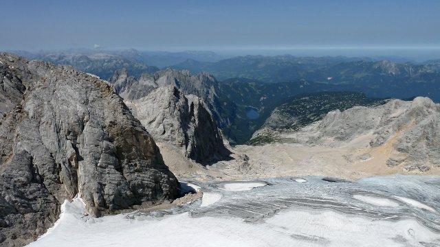 Österreich-Dachstein-Gletscher