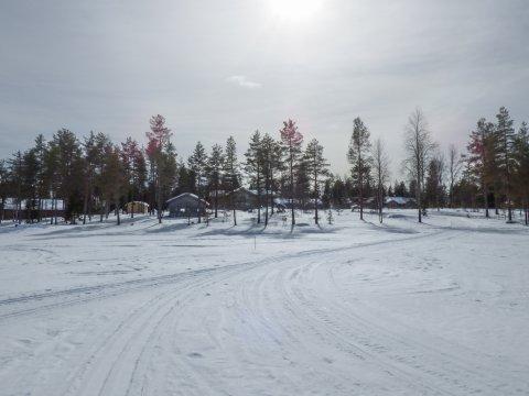 Finnisch Lappland im Winterkleid