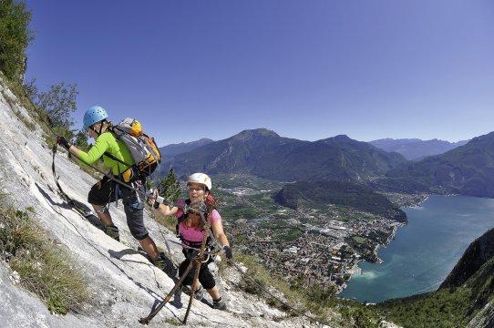 Klettersteige Amicizia Leiter_2
