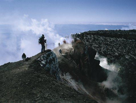 Vulkanlandschaft Kamtschatka