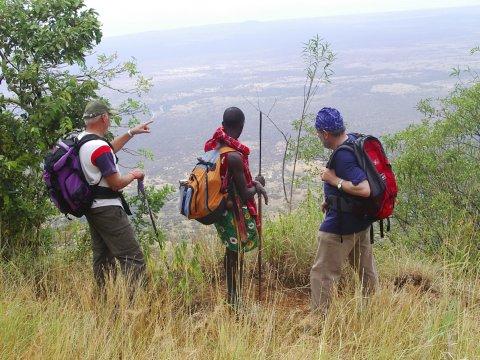 Wandern mit den Massai