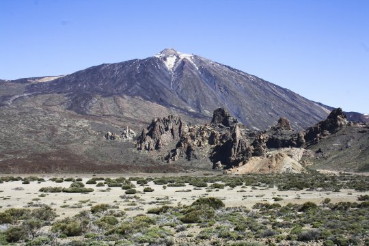 Teneriffa Blick zum Teide