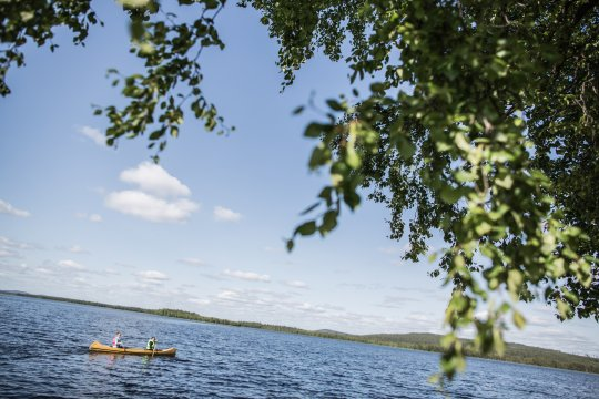 Paddeltour in Schwedisch Lappland©fredrik.broman