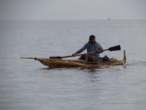 Fischer im Tanasee
