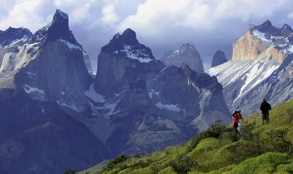 Wanderer_im_Torres_del_Paine_Nationalpark 2