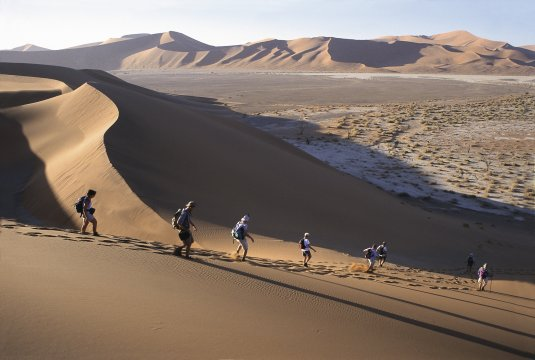 Dünen bei Sossusvlei Namibia