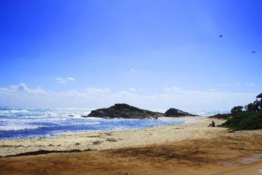 Strand in Tulum