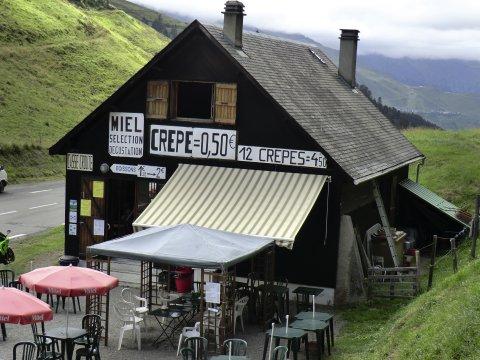 Rast in den Pyrenäen
