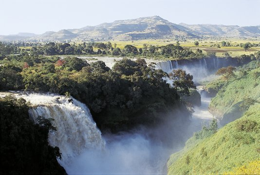 Tissisat Wasserfälle