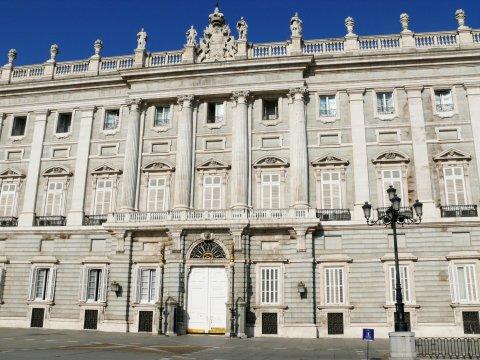 Der Königspalast, Madrid