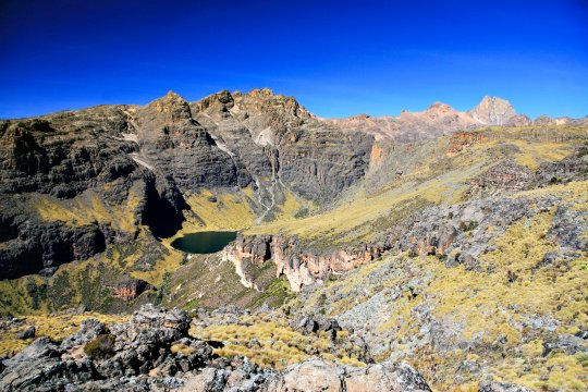Mt Kenya Lake Michaelson