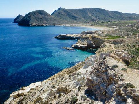 Fossile Strände und Bucht El Playazo