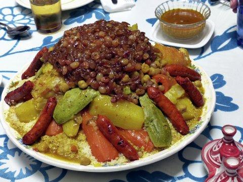 Couscous Kueche Essen