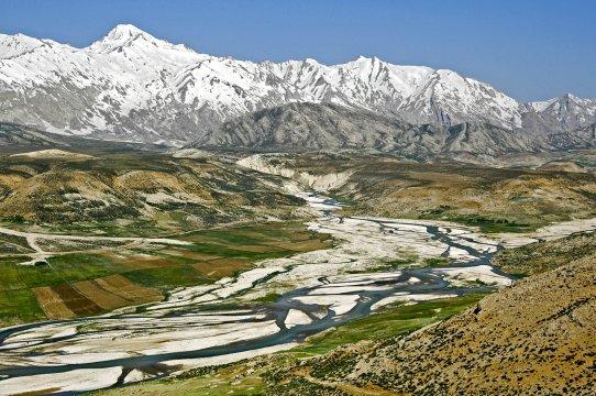 Kuhrang Flusstal