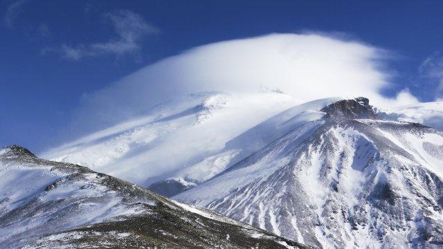 Die Westflanke des Elbrus