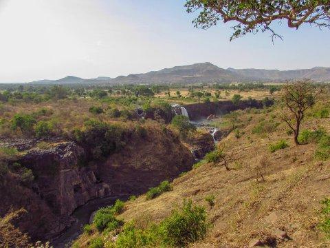 Wasserfälle am Blauen Nil