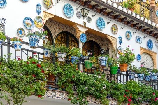 Balkon in Granada