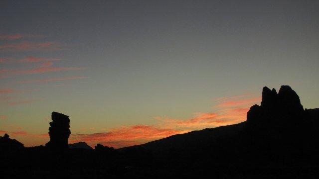 Abendstimmung beim Parador auf Teneriffa